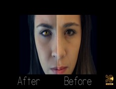 After Effects Tutorial Changing Eye Color