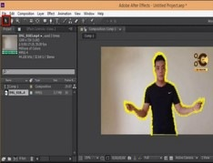 After Effects Tutorial Disintegration -Effect