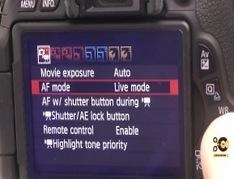 Canon 600D T3i best DSLR movie settings