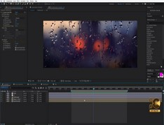 Realistic Rain Drop FX Tutorial! 100% After -Effects!