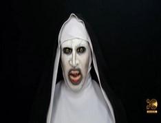 VALAK (The-Nun) Makeup Transformation