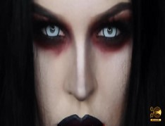 VAMPIRE EASY HALLOWEEN MAKEUP TUTORIAL